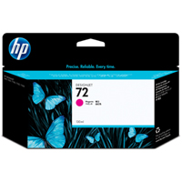 HP No. 72 Magenta Ink Cartridge pro DJ T610, T620, T770, T790, T1100, T1200, T1300, T2300 (130ml)