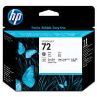HP No. 72 Photo Black and Grey Printhead pro DJ T610, T620, T770, T790, T1100, T1200, T1300, T2300