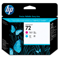 HP No. 72 Photo Cyan a Magenta Printhead pro DJ T610, T620, T770, T790, T1100, T1200, T1300, T2300