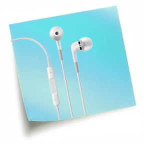Apple In-Ear sluch�tka do u�� s d�lkov�m ovl�d�n�m a mikrofonem