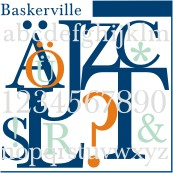 URW Baskerville Regular OpenType Plus Mac/Win CE/Cyr/Greek