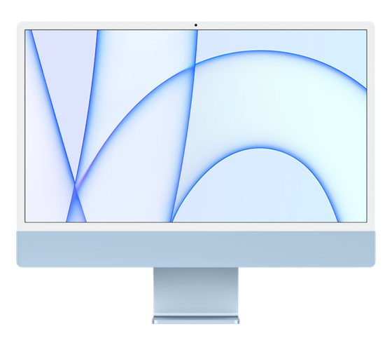 Apple iMac 24'' M1 (8CPU+7GPU), modrý