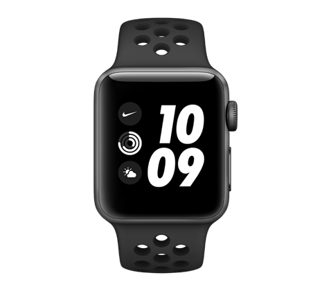 Apple Watch Nike Series 3, vesmírně šedé