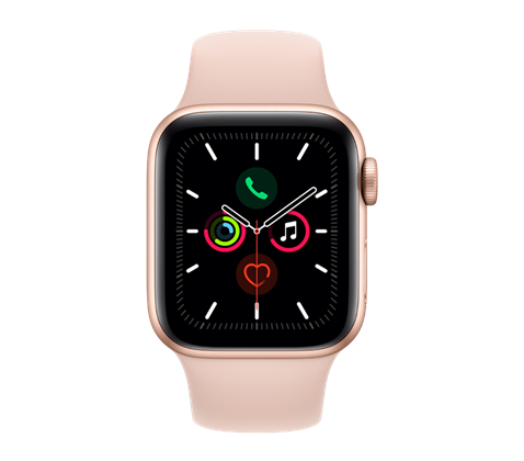 Apple Watch Series 5, zlaté