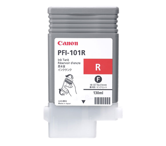 Canon Pigment Ink Tank PFI-101 Red (R) 130 ml