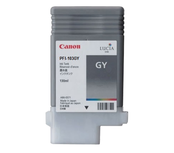 Canon Pigment Ink Tank PFI-103 Grey (GY) 130 ml