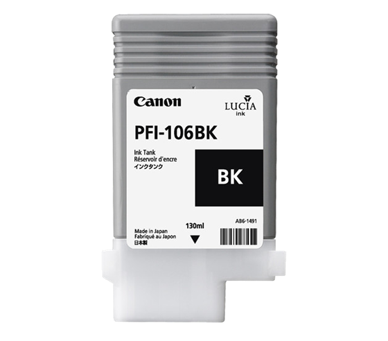 Canon Pigment Ink Tank PFI-106 Photo Black (BK) 130 ml