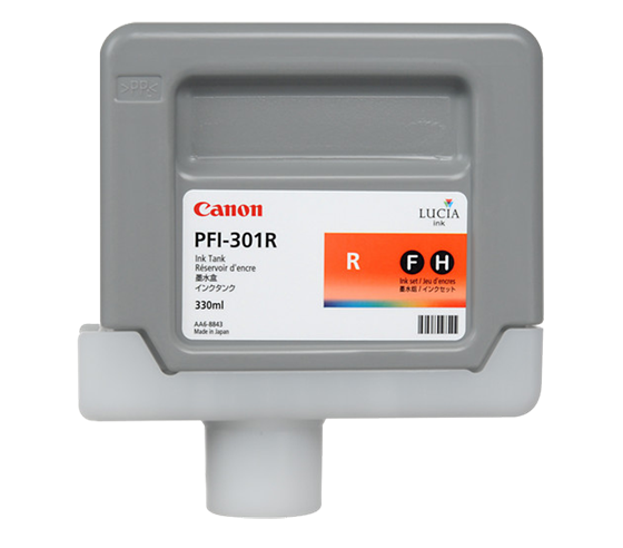 Canon Pigment Ink Tank PFI-301 Red (R) 330 ml