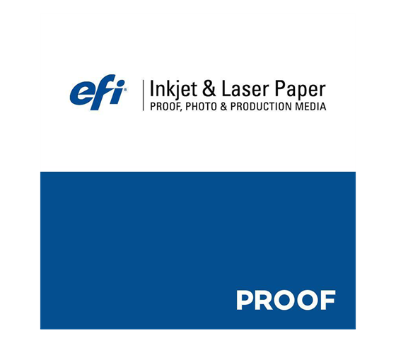 EFI FlexoProof Glossy-Film 130 µ