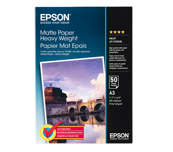 Epson Matte Paper Heavy Weight 167 g/m2