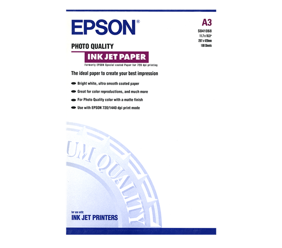 Epson Photo Quality Ink Jet Paper 104 g/m2
