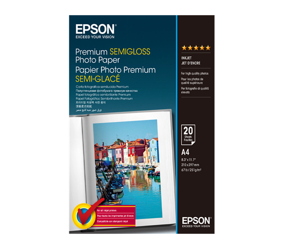 Epson Premium Semigloss Photo Paper 251 g/m2