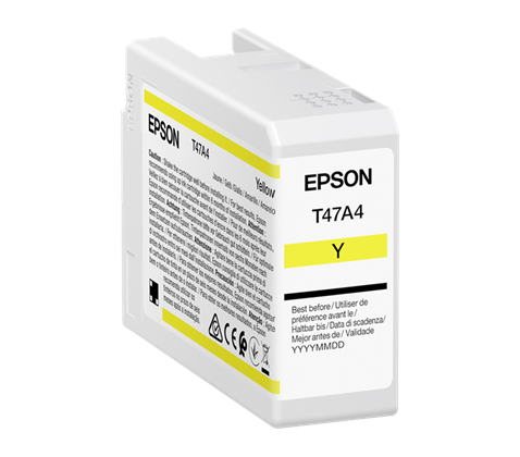 Epson Singlepack Yellow Magenta T47A3 Ultrachrome