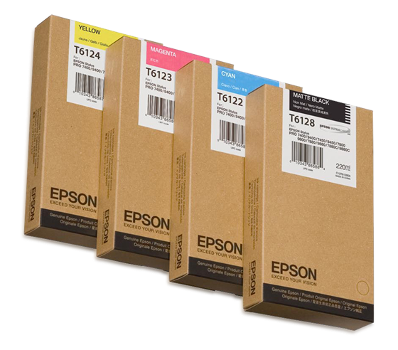Epson T612 220ml Yellow