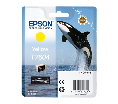 Epson T7604 Yellow 25,9 ml