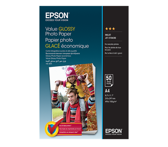 Epson Value Glossy Photo Paper 183 g/m2