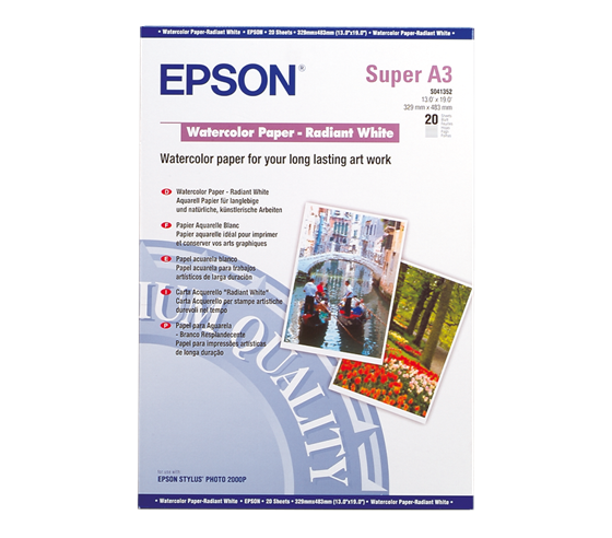 Epson Water Color Radiant White 190 g/m2