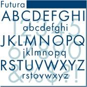 Futura Extra Bold Condensed Oblique OpenType Plus Mac/Win CE/Cyr