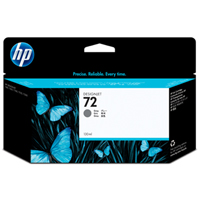 HP No. 72 Grey Ink Cartridge pro DJ T610, T620, T770, T790, T1100, T1200, T1300, T2300 (130ml)