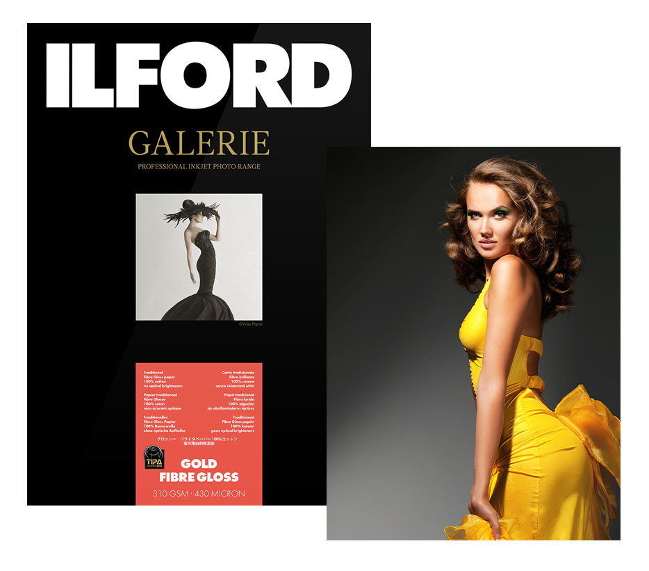 ILFORD GALERIE Prestige Gold Fibre Gloss (GPGFG) 310 g/m2 - listy