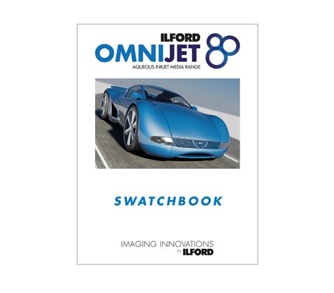 ILFORD OMNIJET Swatchbook A5