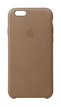 iPhone 6S Plus Leather Case - hnědý kožený kryt