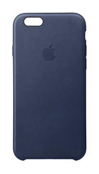 iPhone 6S Plus Leather Case - půlnočně modrý kožený kryt (DTPobchod ... 921b924684a