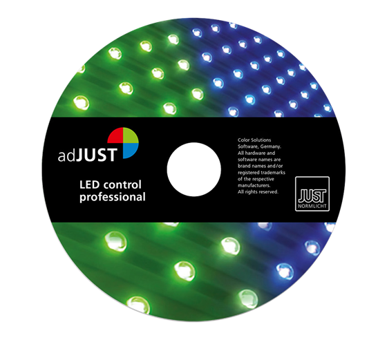 Just LED colorControl Software professional