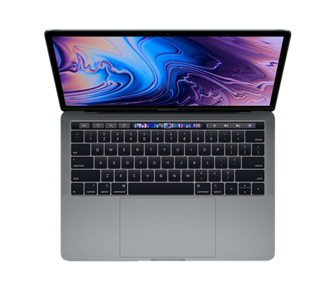 "MacBook Pro 13"" s Touch Bar, i5 2.4GHz, 16GB, 512GB SSD, CZ"