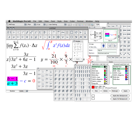 MathMagic Pro for InDesign Win