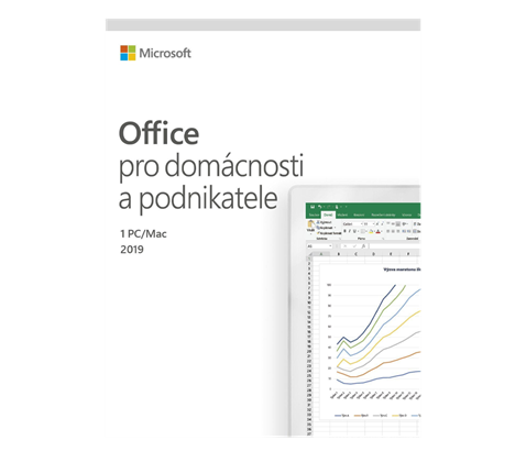 Office Home and Business 2019 CZ, 1 PC/MAC - Elektronická licence