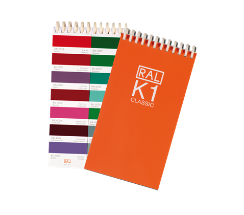 RAL K1 Booklet