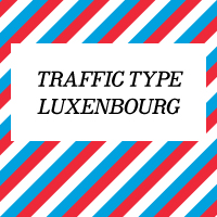 Traffic Type Luxembourg OpenType Mac/Win CE