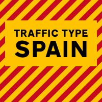 Traffic Type Spain OpenType Mac/Win CE